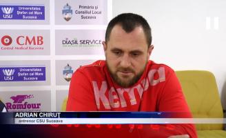 """Adrian Chiruț: """"Așteptăm suporterii să ne susțină în număr cât mai mare"""""""