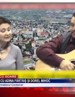 """""""Acasă de Crăciun"""" cu Adina Fărtăiș și Dorel Mihoc"""