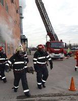 Tur de forță al pirotehnicienilor ISU Suceava