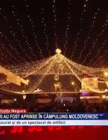 Luminile de sărbători au fost aprinse în Câmpulung Moldovenesc