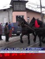 """Zeci de oameni au petrecut la """"Balul gospodarilor"""" de la Moldovița"""
