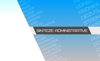 Sinteze administrative – 30 ianuarie 2019