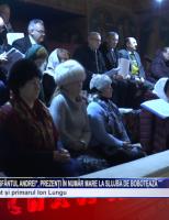 """Credincioșii de la Biserica """"Sfântul Andrei"""", prezenți în număr mare la slujba de Bobotează"""