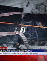 Contrabandiști de țigări somați la Brodina