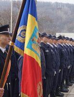 Depunerea jurământului militar pentru elevii Școlii de Subofițeri Pompieri