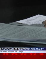 S-a dat startul la plata taxelor și impozitelor locale