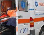 Femeie accidentată la Dumbrăveni