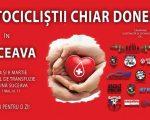 """Campania """"Motocicliștii chiar donează""""continuă, la Suceava"""
