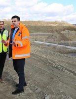 Răzvan Cuc a inspectat stadiul lucrărilor la șoseaua de centură a Sucevei