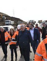 Ministrul Transporturilor a inspectat șoseaua de centură a Sucevei, dar și a Rădăuțiului