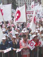 Sanitas anunță acțiuni de protest, imediat ce cadrul legislativ o va permite