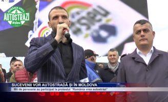 Sucevenii vor autostradă și în Moldova