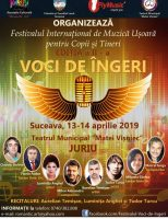 """Festivalul Internațional de Muzică Ușoară """"Voci de îngeri"""""""