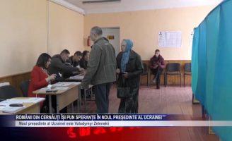 Românii din Cernăuți își pun speranțe în noul Președinte al Ucrainei