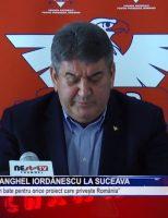 Gabriel Oprea și Anghel Iordănescu la Suceava