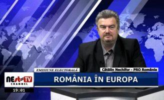 România în Europa – Cătălin Ioan Nechifor – Emisiune Electorală – 15 Mai 2019