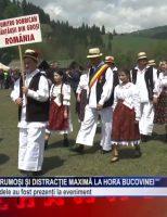 Vreme bună, oameni frumoși și distracție maximă la Hora Bucovinei