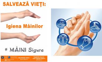"""""""Salvează vieți: Igiena Mâinilor"""""""