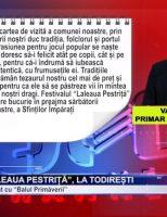 """Festivalul """"Laleaua Pestriță"""", la Todirești"""