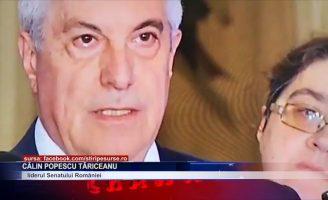 Călin Popescu Tăriceanu i se opune lui Klaus Iohannis
