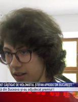 """Trofeul """"Lira de Aur"""" a fost câștigat de violonistul Ștefan Aprodu din București"""