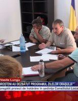Consilierii locali din Broșteni au dezbătut programul zilelor orașului