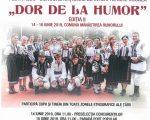 """Festivalul-concurs național de interpretare vocală """"DOR DE LA HUMOR""""  Ediția a-II-a"""
