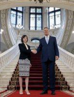 """Maia Sandu: """"Avem mare nevoie de sprijinul României"""""""