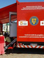 """Caravana SMURD """"Fii pregătit"""" a ajuns la Fălticeni și Vatra Dornei"""