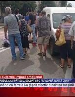 Accident rutier pe Bulevardul Ana Ipătescu, soldat cu o persoană rănită grav
