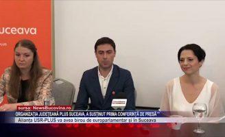 Organizația județeană PLUS Suceava, a susținut prima conferință de presă