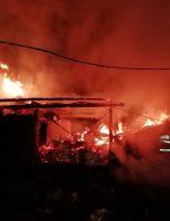 Incendiu la o locuință din comuna Gălănești
