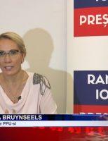 Canditatul la prezidențiale Ramona Ioana Bruynseels, prezent la Suceava