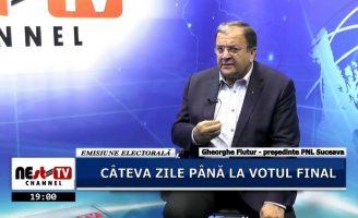 Emisiune Electorala – Sinteze Administrative – Gheorghe Flutur – 20 Noiembrie 2019