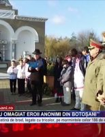 Copiii statului au omagiat eroii anonimi din Botoșani