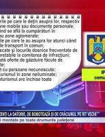 Peste 250 de poliţişti prezenți la datorie, de Bobotează și de Crăciunul pe rit Vechi