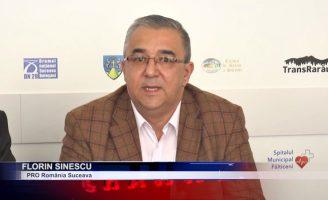 Florin Sinescu, candidatul Pro România la Primăria Municipiului Suceava