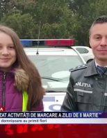 Polițiștii au organizat activități de marcare a Zilei de 8 Martie