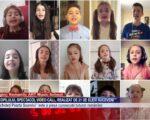 Ziua Copilului, spectacol video call, realizat de 21 de elevi suceveni