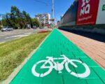 Pistele pentru biciclete și trotinete vor fi de culoare verde