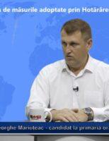 Sinteze administrative – Gheorghe Mariuțeac – 30 Iulie 2020