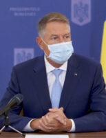 Iohannis recomandă ca oamenii să aibă grijă, să poarte masca și să se spele pe mâini