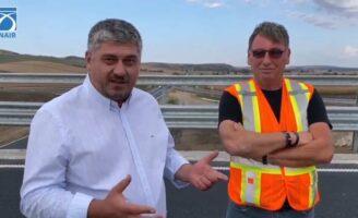 O firmă de construcții din Suceava a realizat cu brio o parte din Autostrada Transilvania