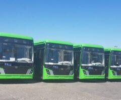 A fost inaugurat parcul de autobuze electrice, la Suceava