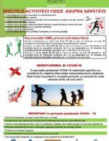 Luna Națională a informării despre efectele activității fizice