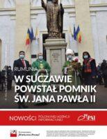 Sfințirea noului monument dedicat Sfântului Ioan Paul al II-lea, la Suceava