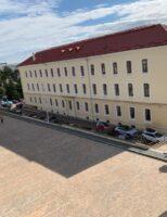 Pavaj antichizat pentru parcarea de la Palatul de Justiție Suceava