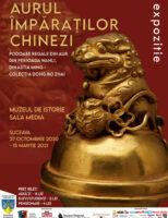 Aurul împăraților chinezi-145 de podoabe regale găzduite de Muzeul de Istorie Suceava