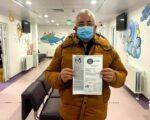 Primarul municipiului Suceava s-a vaccinat împotriva Covid-19