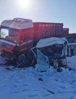 Accident rutier în Rădăuți, varianta spre Volovăț